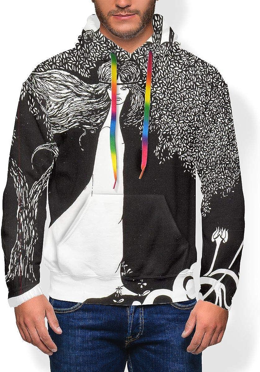 Procol Harum Mens Long Sleeve Personality Jacket Hoodie Sweatshirt Plus Velvet Black
