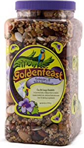 Goldenfeast Schmitt II Nuts in Shell Formula Parrot Food 64oz Bird Food