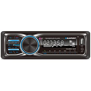 Blaupunkt COLUMBUS 100 BT MP3 and FM Bluetooth Car Stereo Receiver with USB SD and