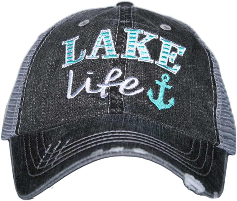 Katydid Lake Life Women's Trucker Hats Caps