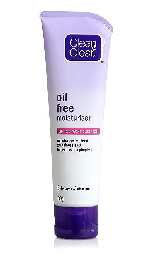 Clean   Clear Oil Free Moisturizer, 80ml  Amazon.in  Beauty f544fa68f04