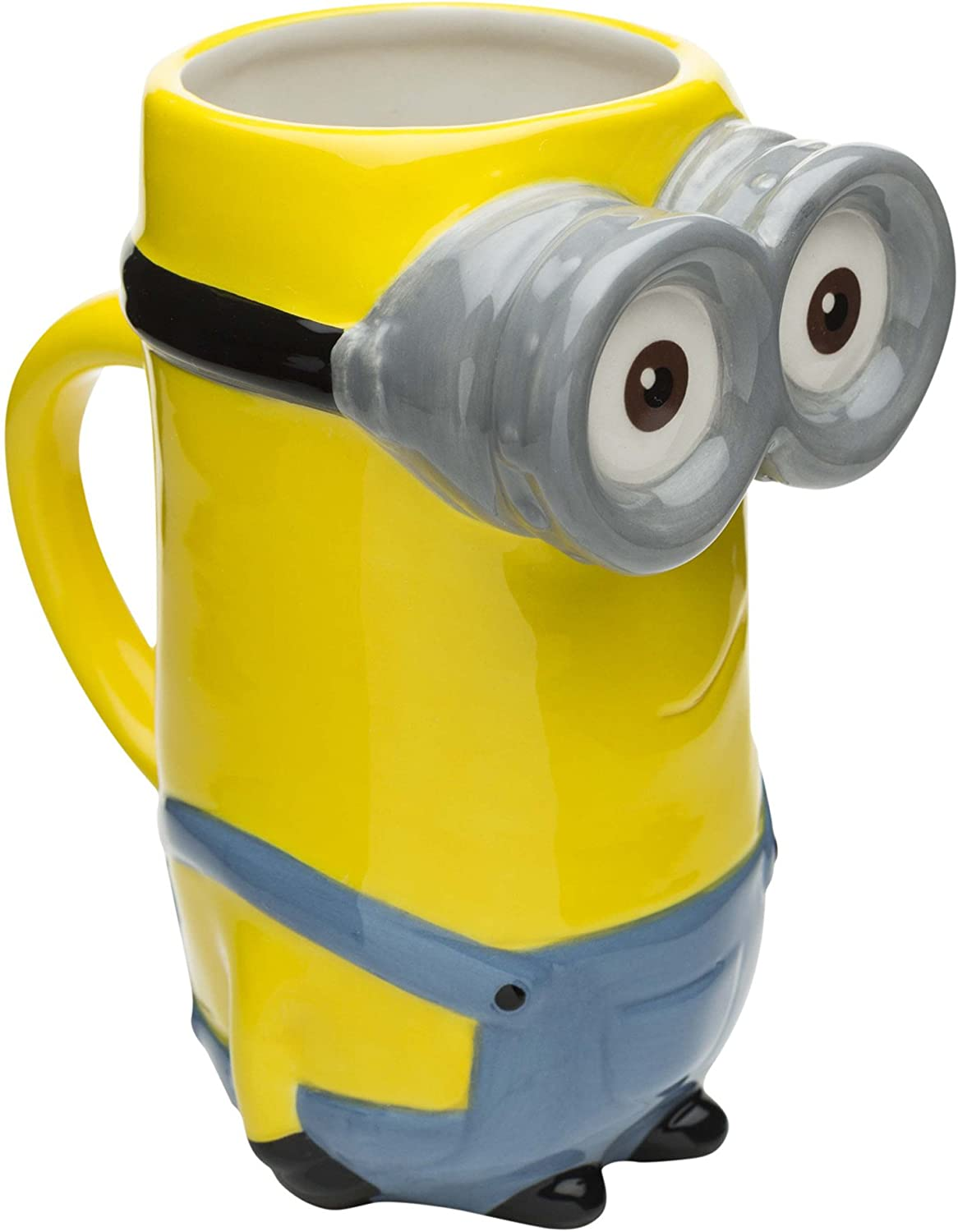 Zak Designs Minions Coffee Mugs, Sculpted, Kevin