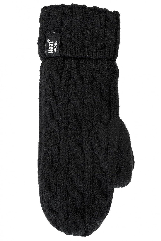 HEAT HOLDERS Damen Handschuhe schwarz schwarz
