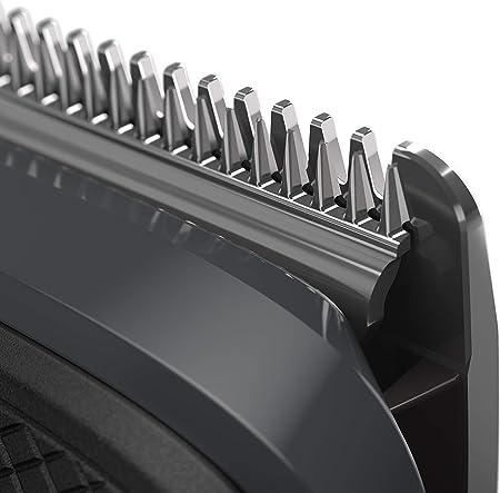 Philips Barbero MG5720/15 - Recortador de barba y precisión 9 en 1 tecnología Dualcut, para un recorte profesional, autonomía de 80 minutos, batería, negro