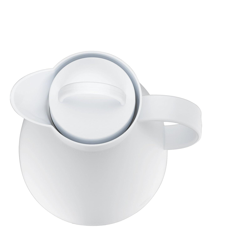 Kunststoff gefrostet Teal 1,0 l 24 Stunden kalt 12 Stunden hei/ß alfi 0935.080.100 Isolierkanne Dan