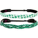 Amazon Price History for:Hipsy Irish Green Hairbands ST Patricks Day accessories Clover Headband Gift Packs