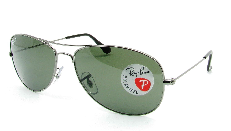 149a657e10c Amazon.com  Ray Ban Sunglasses RB3362 004 58 Gunmetal Crystal Green  Polarized 59mm  Ray-Ban  Shoes