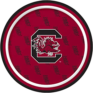 Creative Converting University of South Carolina Paper Plates, pack of 8