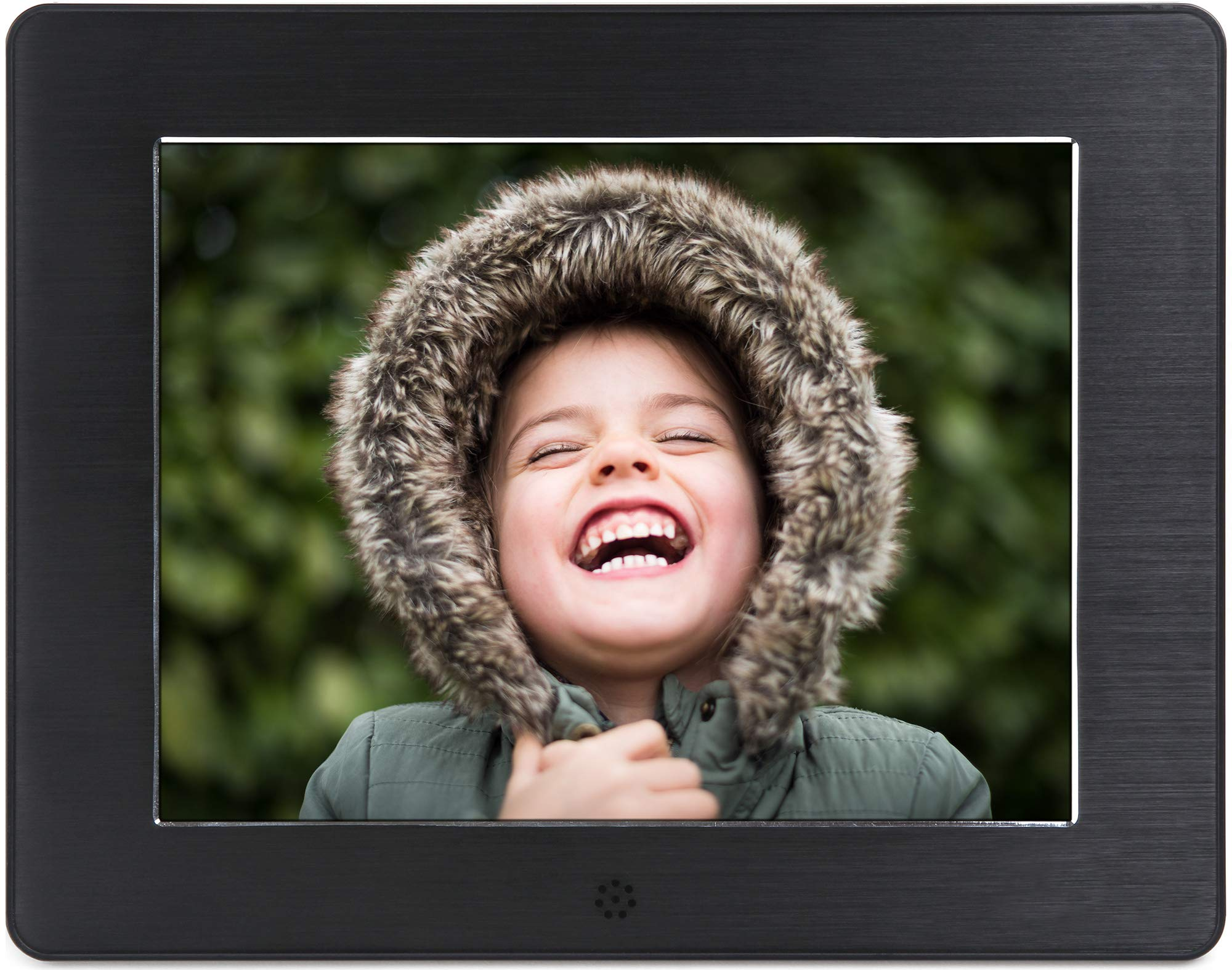 Micca 8-Inch Digital Photo Frame High Resolution LCD, MP3 Music 1080P HD Video Playback, Auto On/Off Timer (Model: N8, Replaces M808z) by Micca