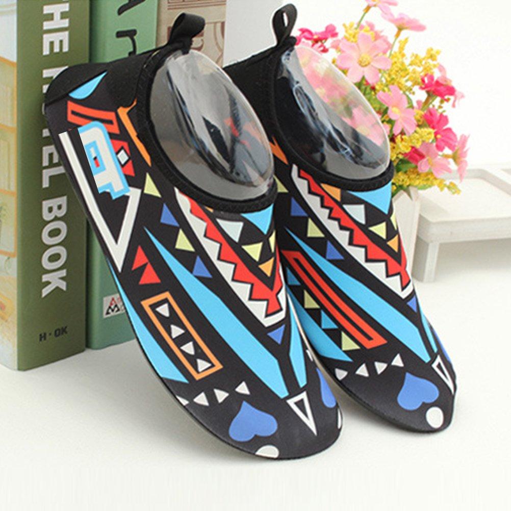 Zhuhaitf Beach Sport Swim Diving Yoga Skin Shoes Unisex Kids Barefoot Aqua Shoes