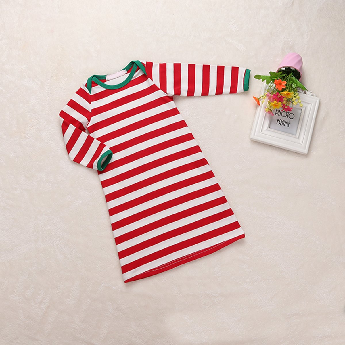 04065b3b7 puseky Baby Boys Girls Christmas Striped Pajamas Sleeping Bag Sleepwear  Dressing Gown Robe: Amazon.ca: Clothing & Accessories