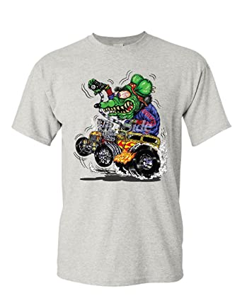 Hot Rod T Shirts >> 8 Ball Yellow Hot Rod T Shirt Crazy Green Monster Rat Muscle Car Mens Tee Shirt