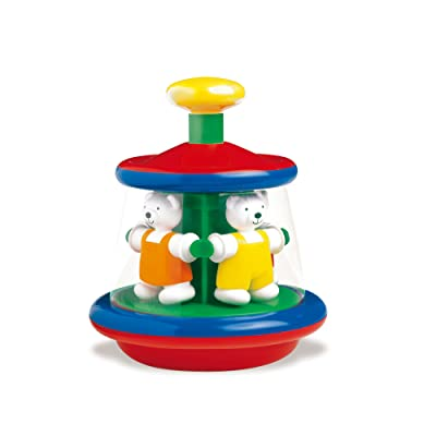 Ambi Toys, Ted & Tess Carousel, Multicolor: Toys & Games