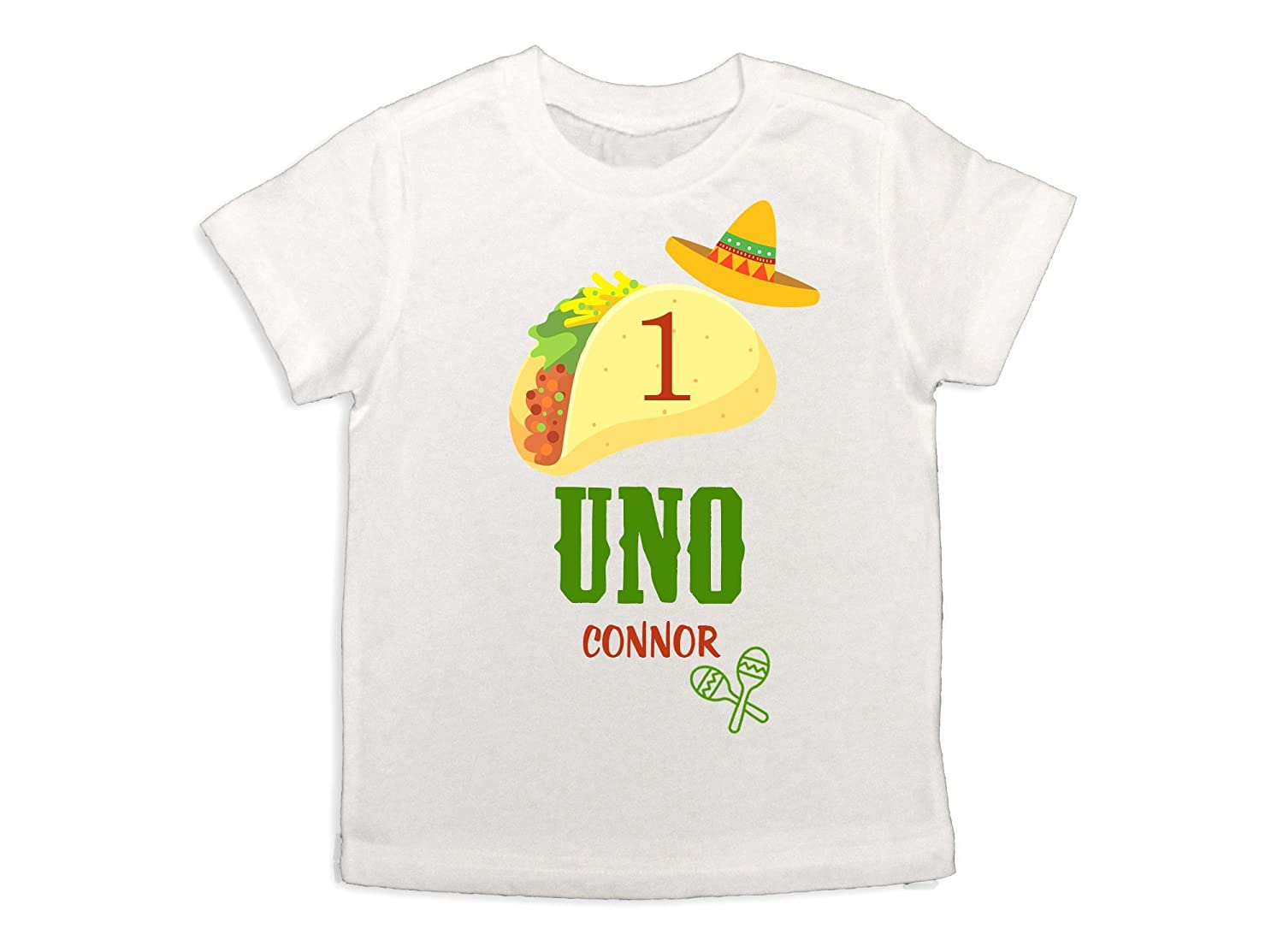 Amazon Baby Boy Uno Taco Shirt Fiesta 1st Birthday Boys Sombrero Party Handmade