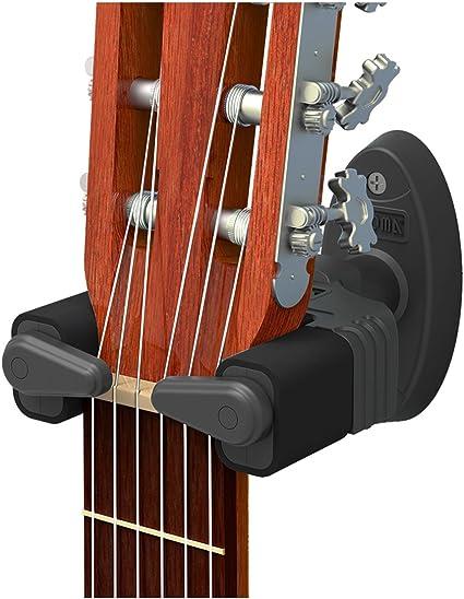CANTUS - Soporte de pared con bloqueo automático para guitarras ...