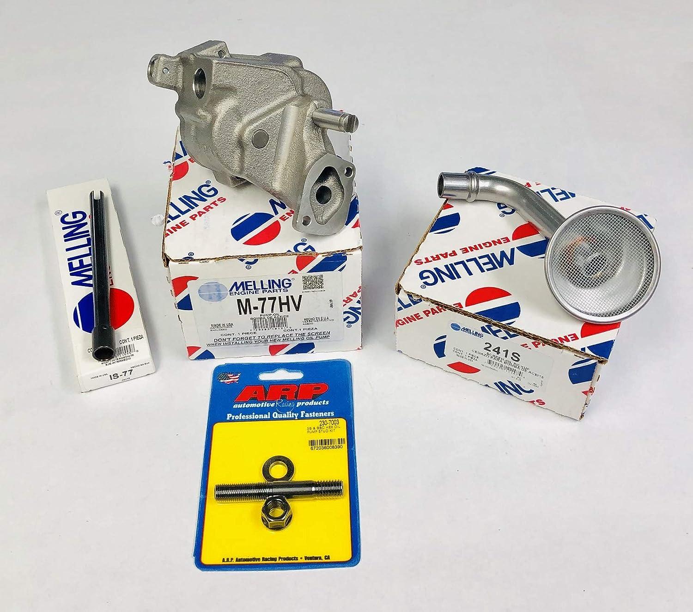 Melling M77HV Engine Oil Pump Chevy 396 402 427 454 HV Oil Pump ARP stud kit rod