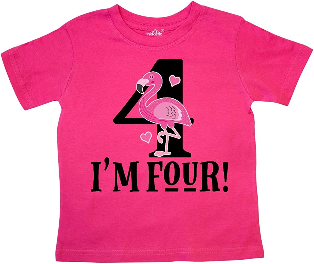 4th Birthday Toddler Long Sleeve T-Shirt inktastic This Princess is Four