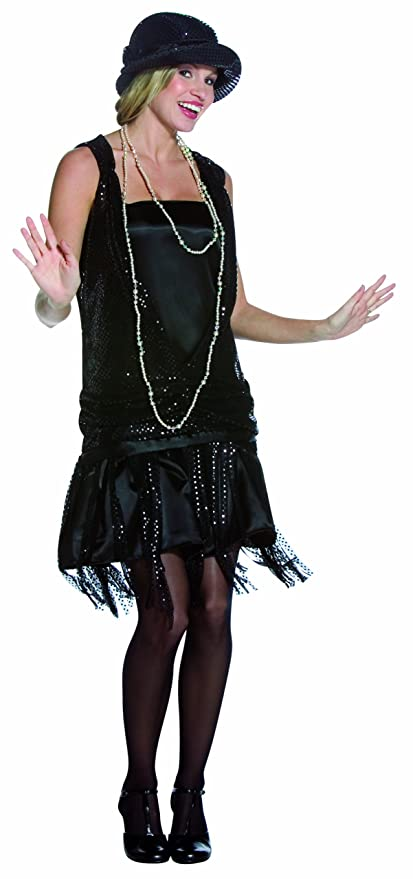 Roaring 20s Costumes- Flapper Costumes, Gangster Costumes  Gatsby Girl $22.75 AT vintagedancer.com