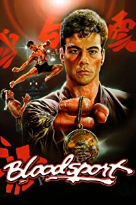 PremiumPrints - Van Damme Blood Sport Movie Poster Glossy Finish Made in USA - FIL186 (24