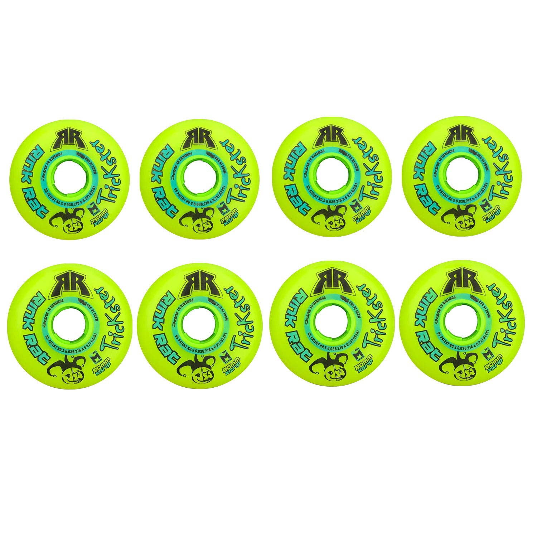 Rink Rat Wheels 80mm / 76mm Hilo 84A Trickster X Inline Indoor Roller Hockey