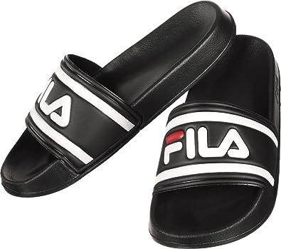 4f96599385a0 Fila Womens Morro Bay Slippers Synthetic Black Size EU 36 - US 6