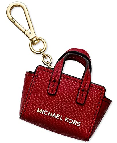 82bee8a3b58f Amazon.com: Michael Kors Key Charms Selma Key Fob in Red Leather: Shoes