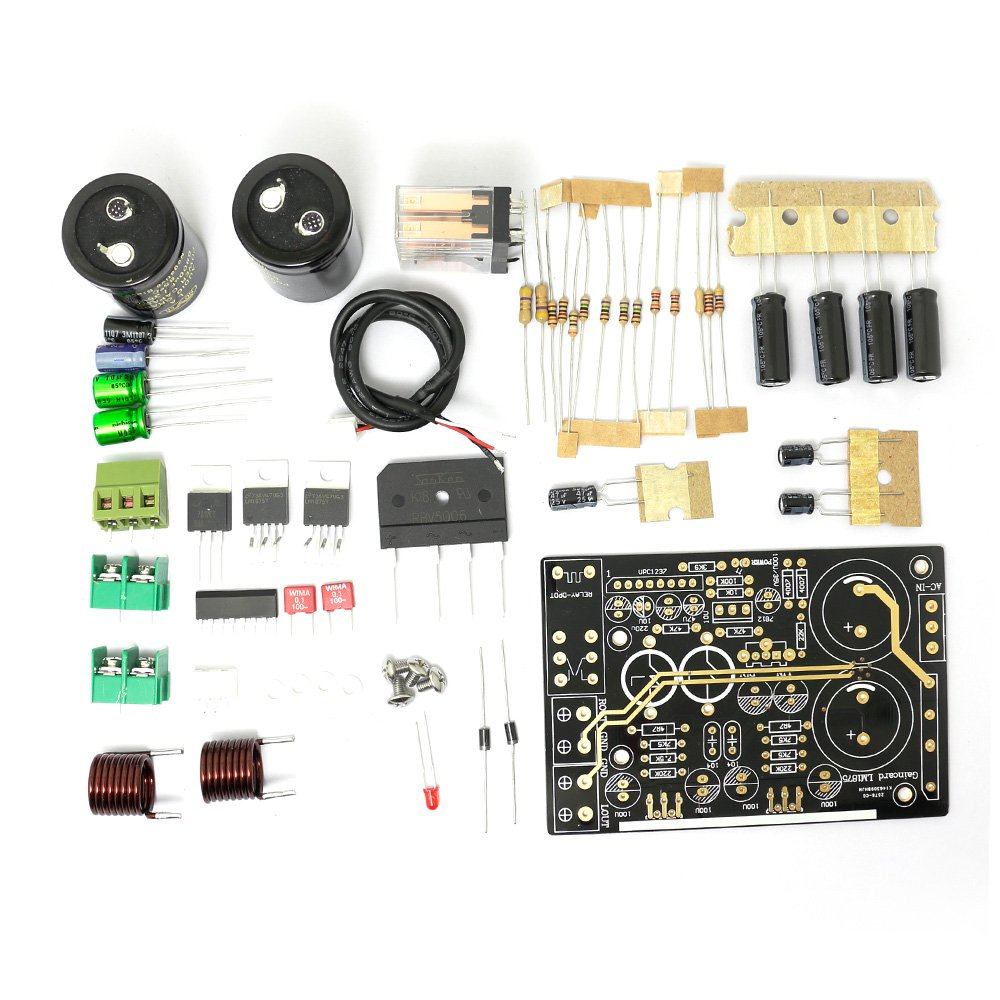 Lm1875 Distortion Lower More Enjoyable Version Of The 20w Audio Amplifier Using Power Board Kit For Gaincard Home Theater