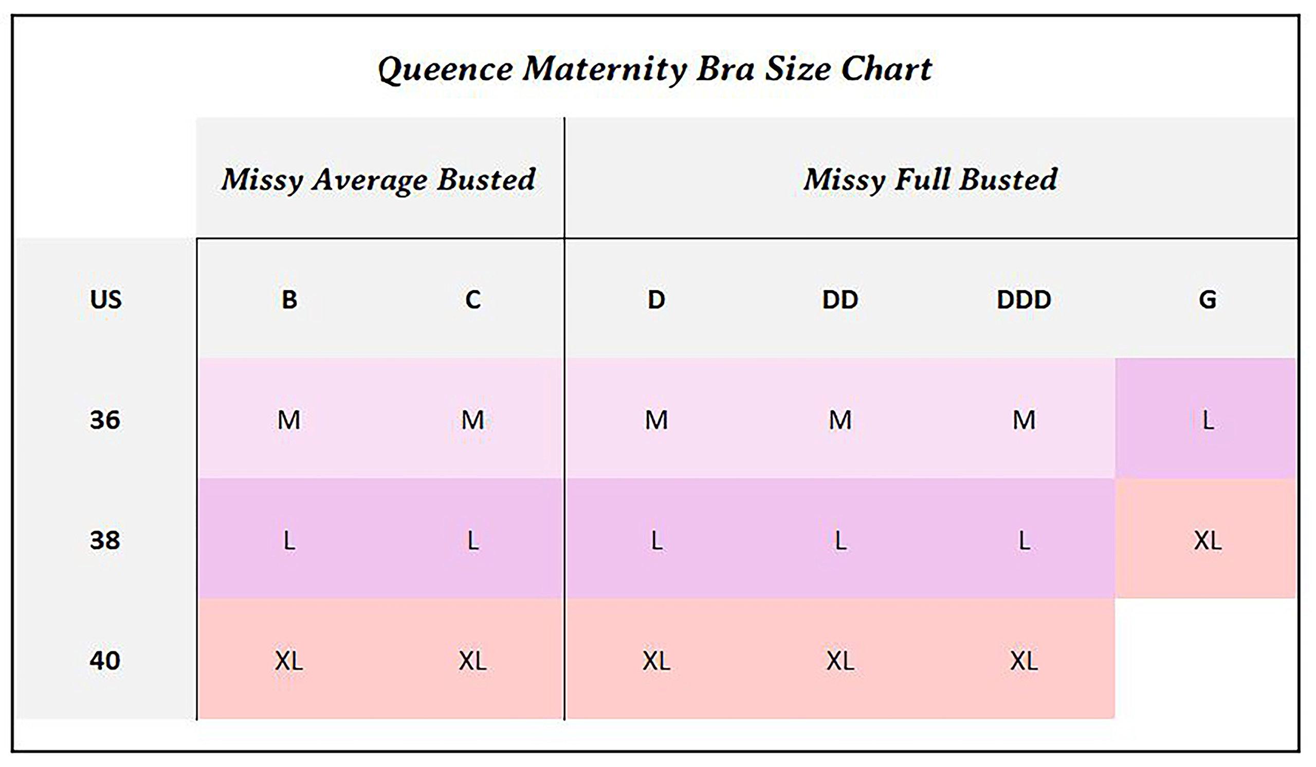 Queence Seamless Nursing Bra Women's Wireless Maternity Bras for Breastfeeding by Queence (Image #7)