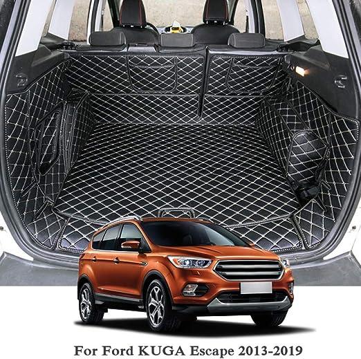 YCGLX 4 Stcke Fr Ford KUGA 2013-2019 Edelstahl Auto Schwelle ...
