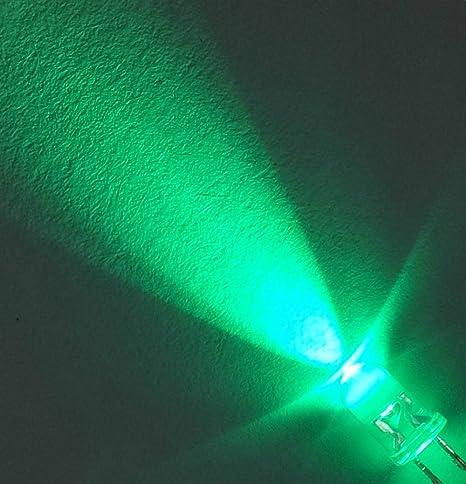 50 pezzi chiaro super luminosi LED VERDI 5mm 15000mcd LED VERDE