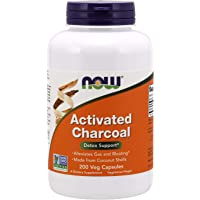 Now Foods  Activated Charcoal, Veg Capsules, 200ct