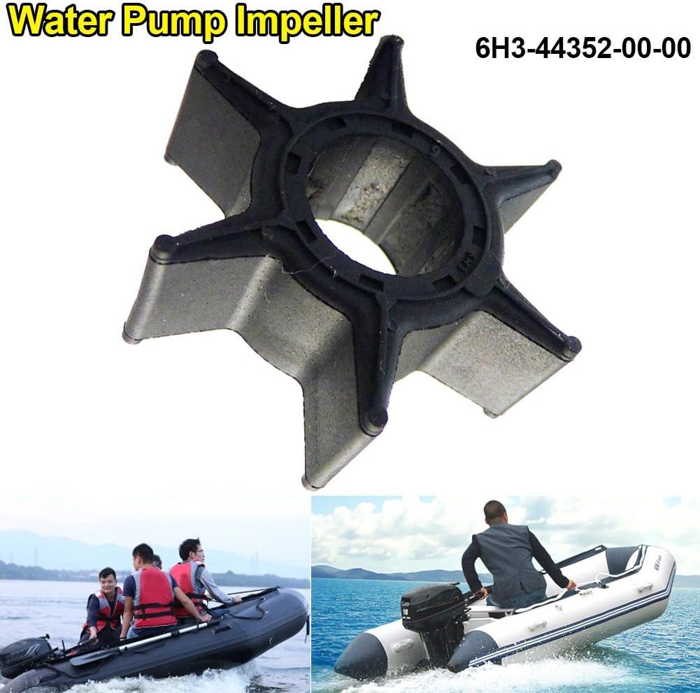 Wildlead Nuova girante pompa acqua per motore fuoribordo Yamaha 40-70hp 6H3-44352-00-00 18-3069