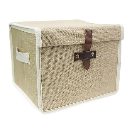 Tandi Eco-friendly Foldable Linen/Jute Storage BoxD&-proof Water Proof  sc 1 st  Amazon UK & Tandi Eco-friendly Foldable Linen/Jute Storage BoxDamp-proof Water ...
