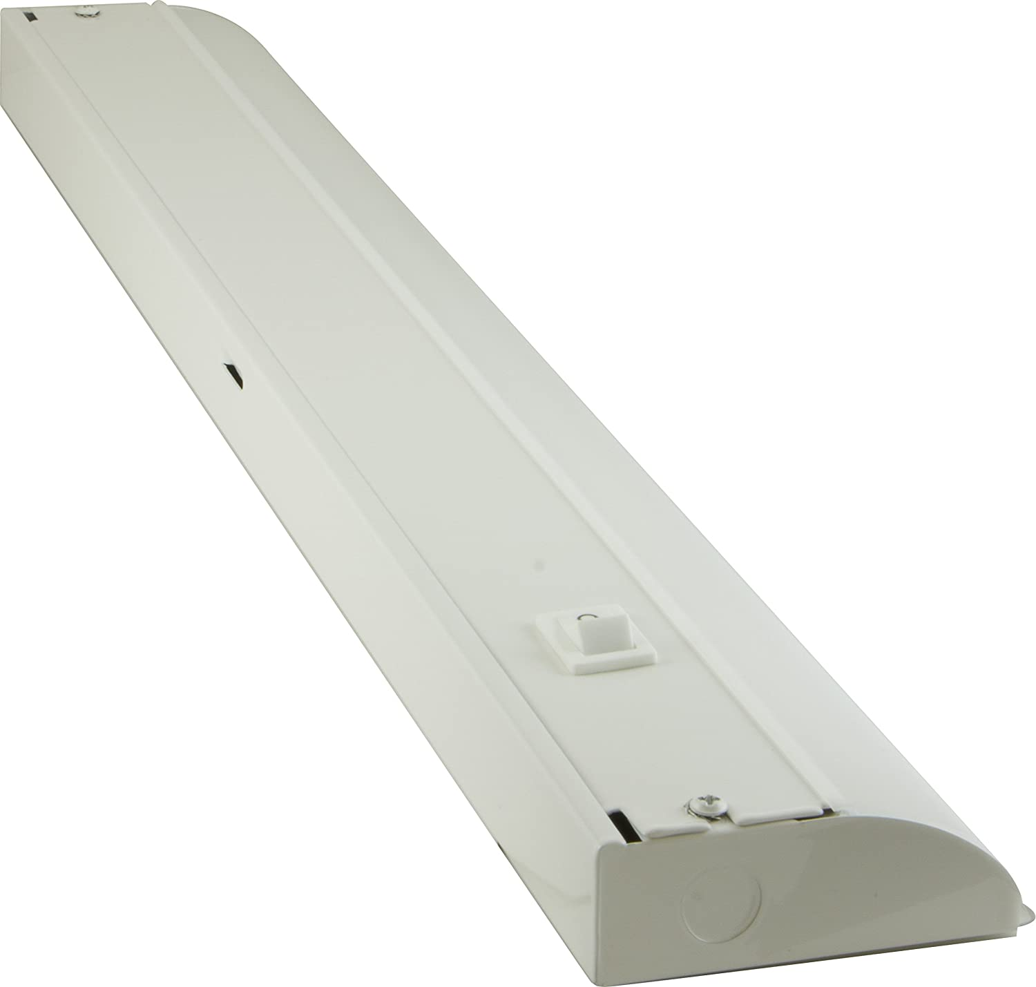 GE 36 Inch Premium Front Phase LED Under Cabinet Light Fixture, Direct Wire, In-Wall Dimmer Compatible, 3000K Bright White, Steel Housing, 1366 Lumens, 29434