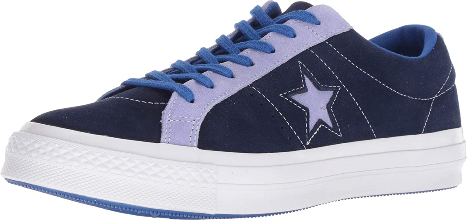 Converse Lifestyle One Star Ox, Scarpe da Ginnastica Basse Unisex – Adulto MultiColoreeee (Eclipse Twilight Pulse 426) | Menu elegante e robusto