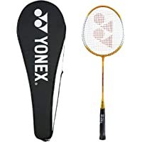 Yonex GR 303 Aluminum Blend Badminton Racquet with Full Cover (Yellow)
