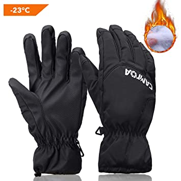11 Lederhandschuh Handschuh Arbeitshandschuhe Futter Thermo Winterhandschuhe Gr