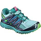 Salomon Women's X-Mission 3 Trail Running Shoes and Spare Quicklace Bundle