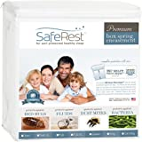 SafeRest Premium Box Spring Encasement - Lab Tested Bed Bug Proof, Dust Mite Proof and Waterproof - Breathable, Noiseless and Vinyl Free - Twin Extra Long (XL)