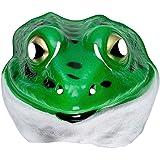 Masque de Grenouille Pour Enfant Crapaud Masque D'Animal Plastique Masque de Grenouille Masque Pour Enfant Animal Masque de Carnaval Costume D'Animal Accessoire