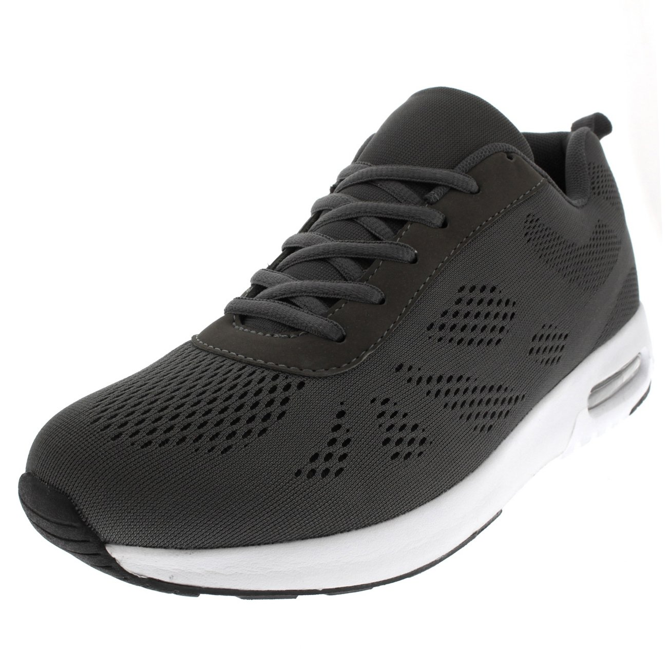 Get Fit Mens Fitness Air Bubble Sport Walking Running Performance Shoes Lightweight Trainers