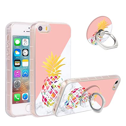 Amazon.com: iPhone 8 Funda iPhone 7 Funda piña de mármol ...