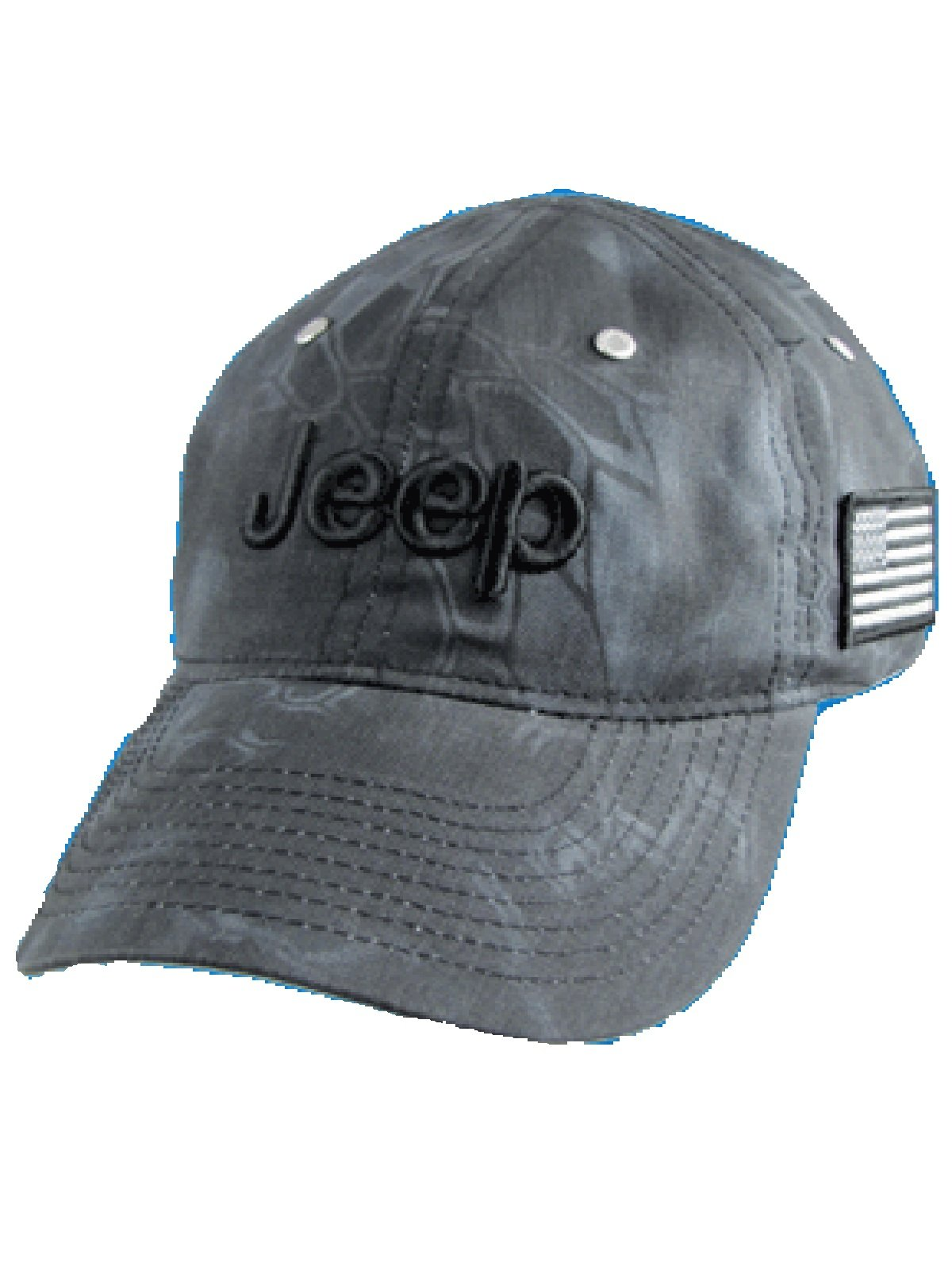 Jeep Charcoal Typhon Camo Cap by Jeep (Image #1)