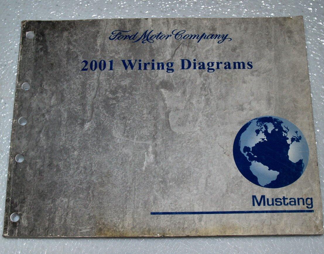 2001 Ford Mustang Wiring Diagrams Ewd Motor Company Amazon Books