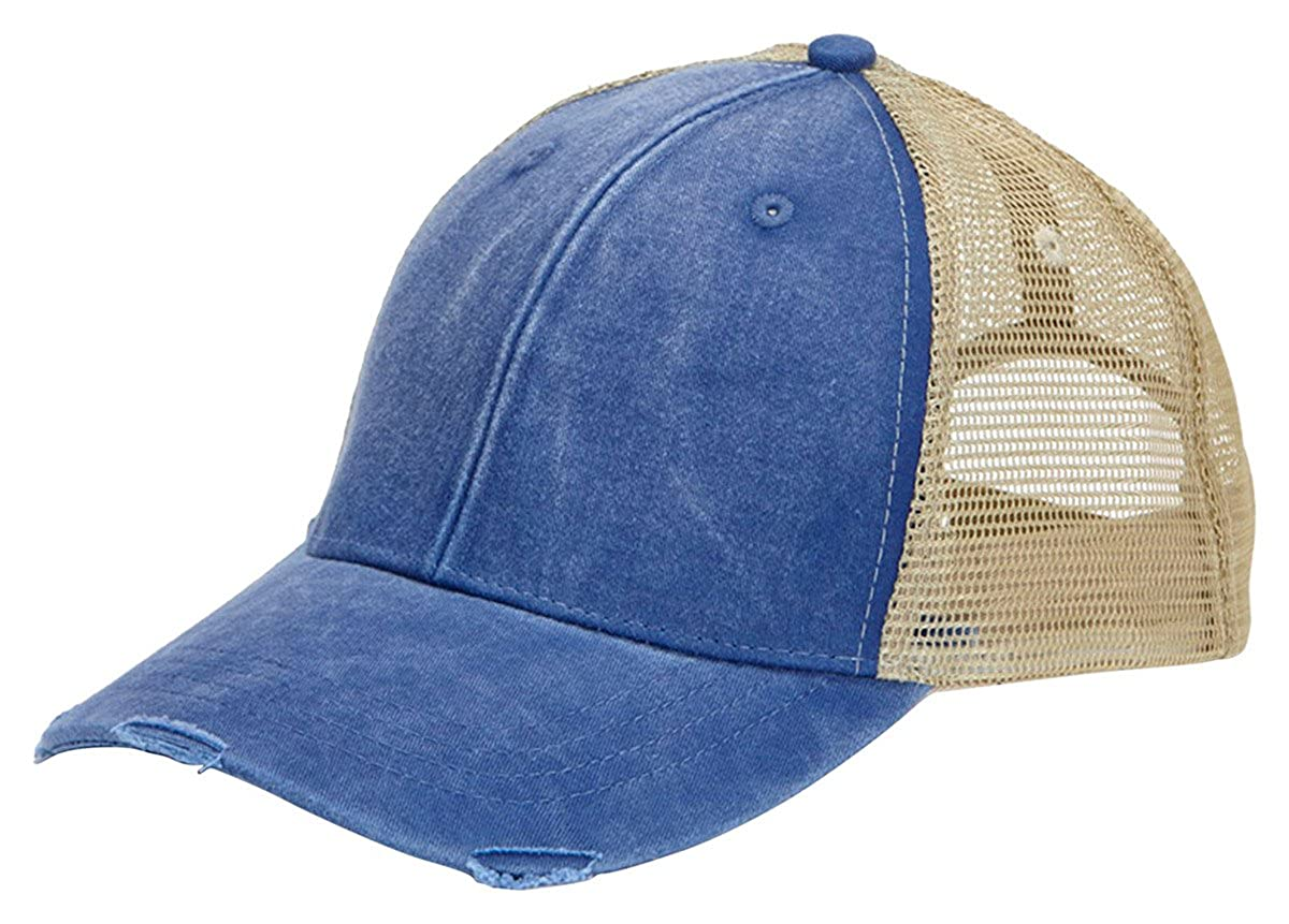 79b3f051 Amazon.com: Adams Ollie Pigment Dyed Cap (Royal_Tan) (One): Clothing