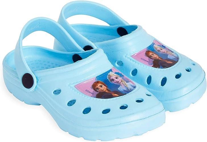 Disney Frozen 2 Sandalias Niña, Cangrejeras Niña con Princesas Disney Anna y Elsa, Zuecos Niña para Piscina Playa Jardin, Regalos Originales para Niñas: Amazon.es: Zapatos y complementos