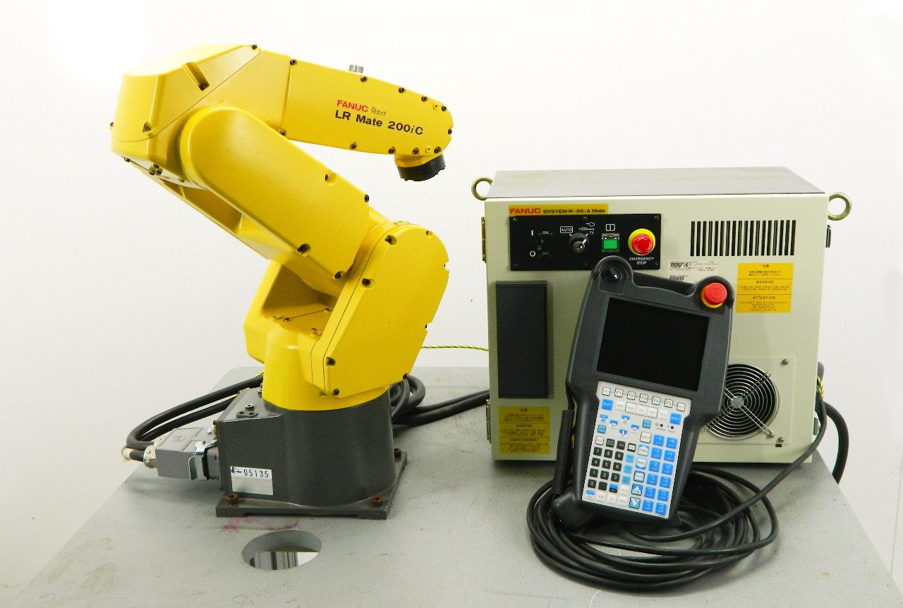 Amazon com: Fanuc LR Mate 200iC Robot with R30iA Control