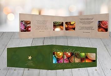 Standard Weihnachtsgrüße.Kartenparadies Grußkarte Weihnachten Grußkarte Christbaumkugeln