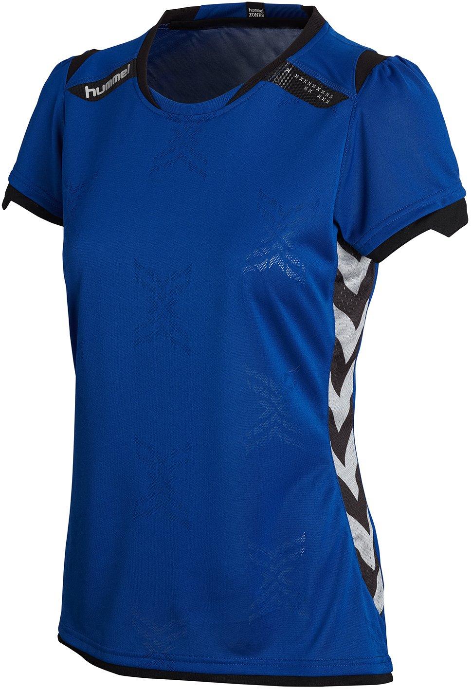 HUSTLE. Hummel Trikot - Camiseta para mujer, tamañ o S, color auté ntico azul tamaño S color auténtico azul