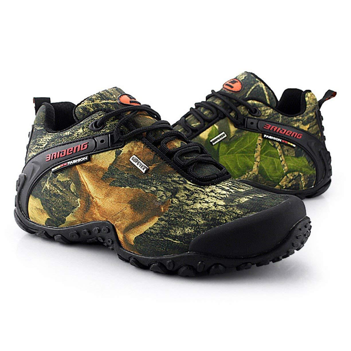 Zapatos de Senderismo Impermeables al al al Aire Libre para Hombres con Cordones de Camping Zapatos de monta ntilde;a para Escalar Zapatos Zapatos Transpirables Antideslizantes a89588